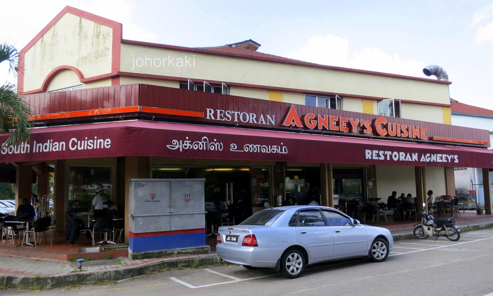 Agneey s cuisine indian restaurant in tampoi johor bahru