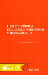 "Libro ""Funcin Pblica, Declaracin Patrimonial y Transparencia"""