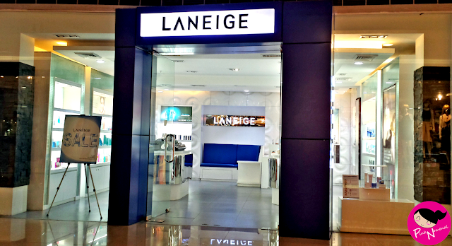 Image of Korean Make-Up Brand, Laneige - SM Megamall Store pinknomenal.blogspot.com