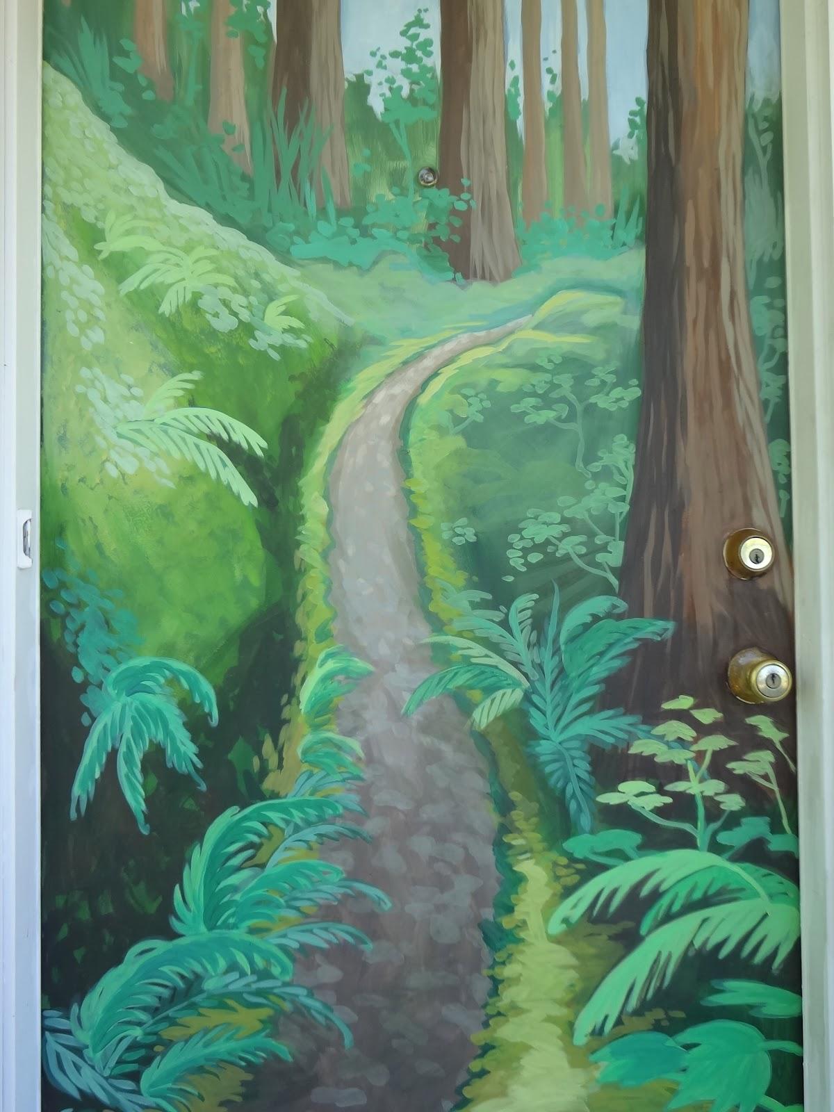 Elegant ... Them.   Painted A Custom Oak Tree Mural ... Part 26