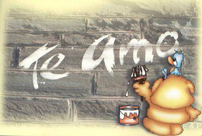 Six Picture of Graffiti Te Amo