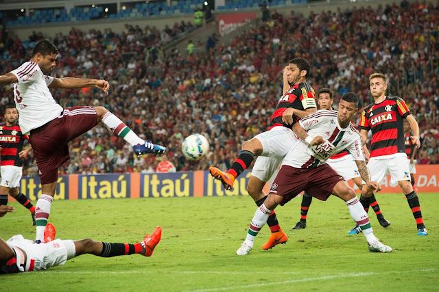 No embate do primeiro turno, o Fluminense levou a melhor sobre o Flamengo por 3 a 2 (foto: Bruno Haddad/Fluminense)