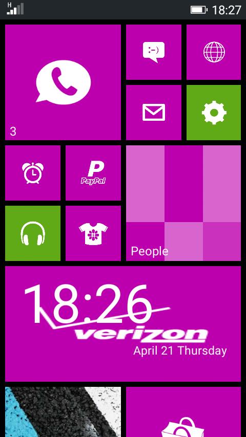 Alice Winphone For ADVAN S5E PRO KITKAT MT6572