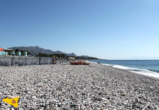 Strand von San Marco in Calatabiano