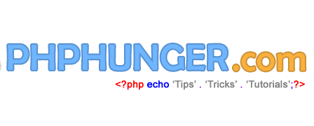 PHPHUNGER.COM - A Complete Web Developer Blog