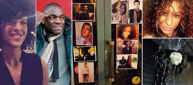 photos of 11 friends killed celebrating birthday in Paris attack.
