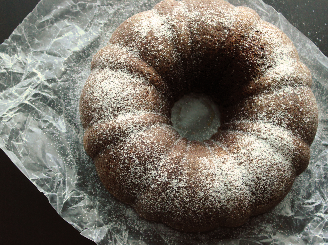 The Busty Baker: Chocolate Sour Cream Bundt Cake
