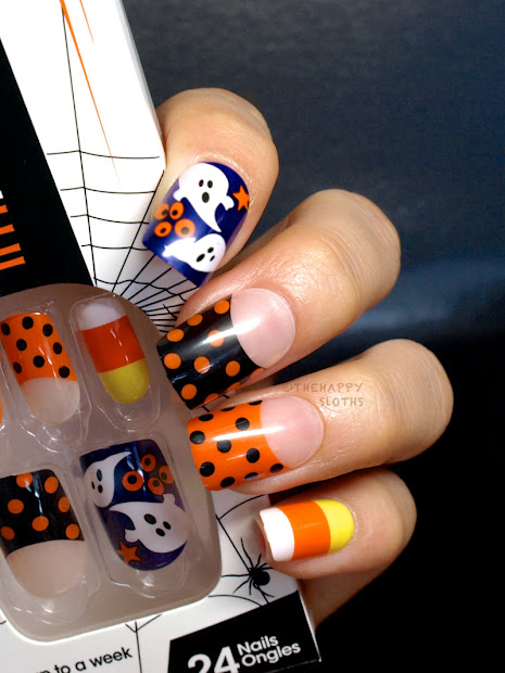 halloween impress press- manicure