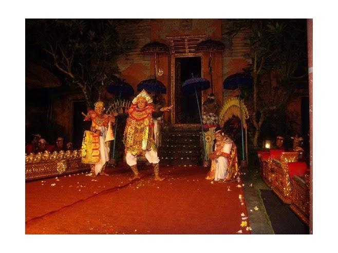 Ubud Palace Balinese dancing