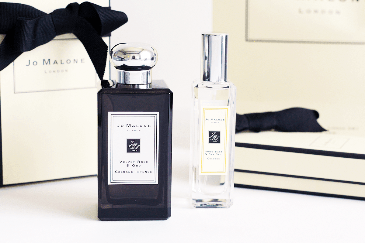 jo malone velvet rose and oud wood sage and sea salt