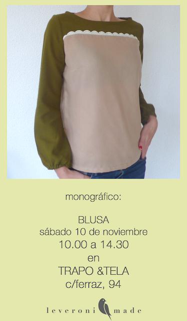 Monográfico costura blusa