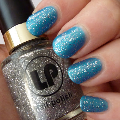 Laura Paige Limited Edition No 25 with Crystal Daze Nail Polish Swatch