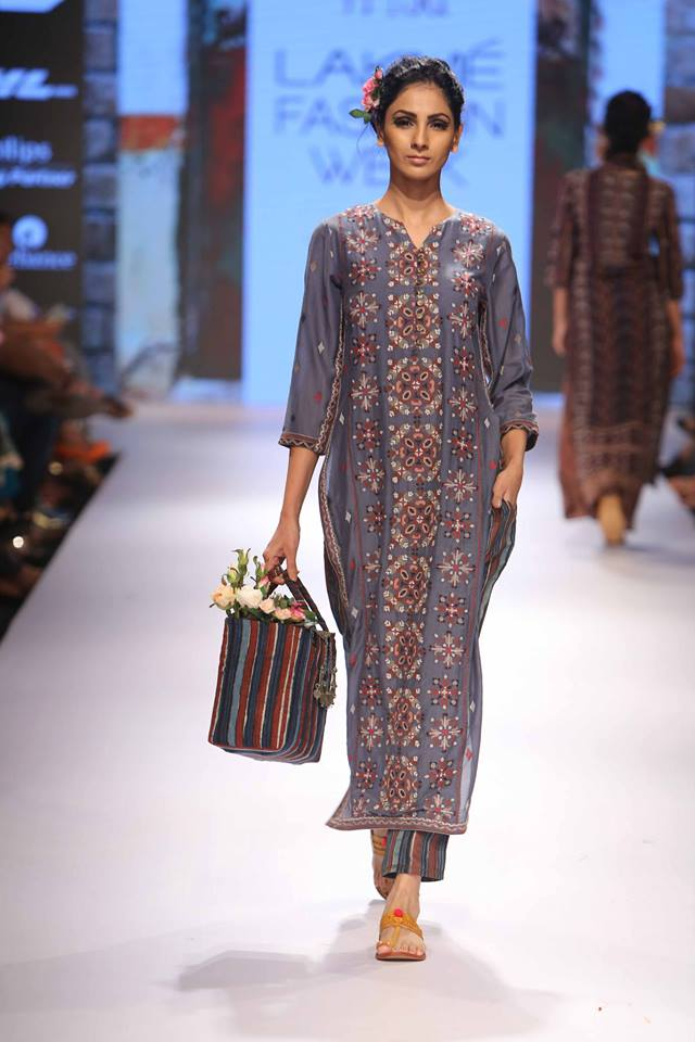 Rahul n Shikha Lakmé Fashion week a/w 2015