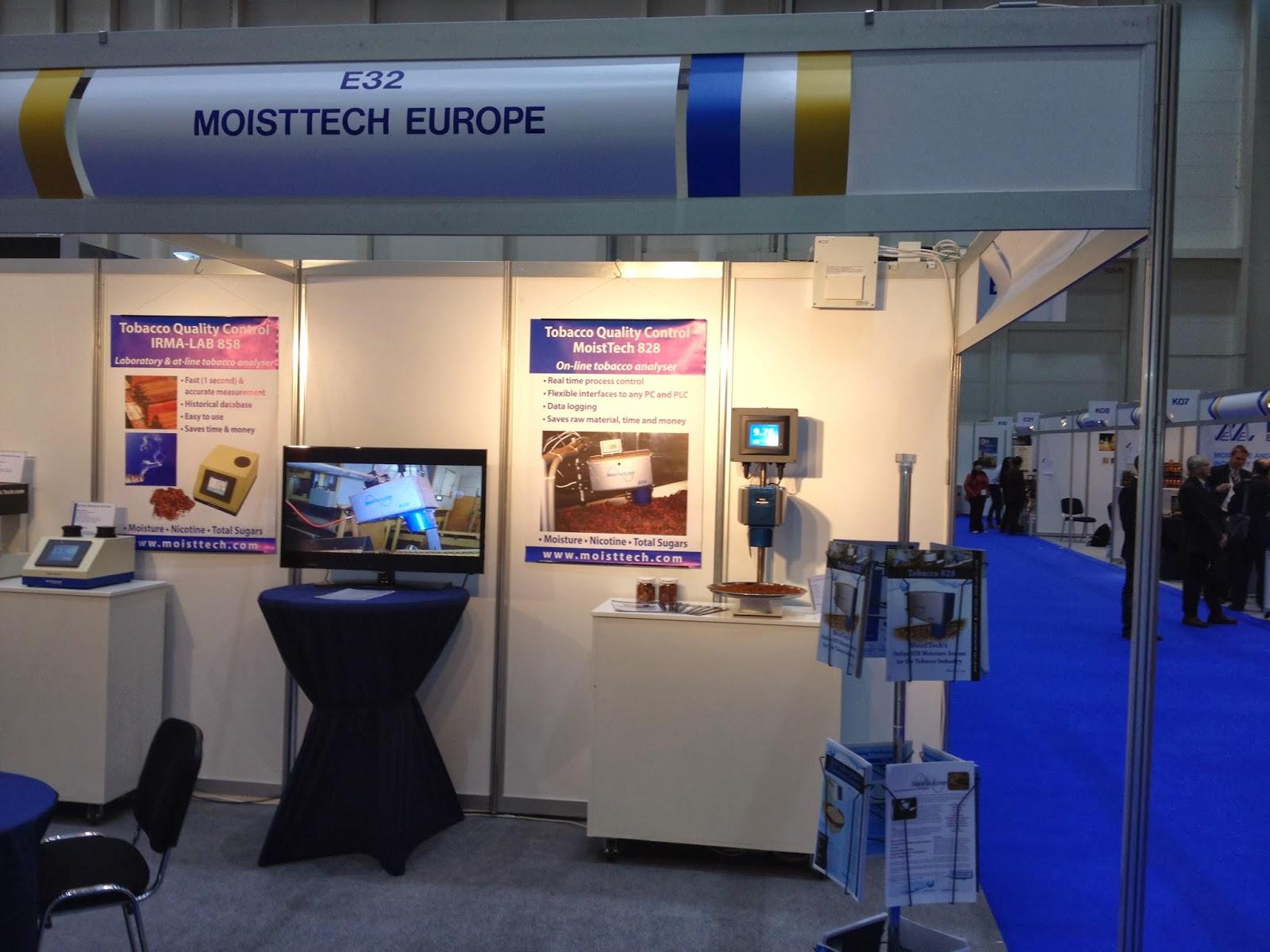 MoistTech Europe Booth