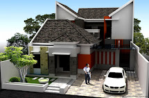 Model Rumah Tinggal Taman Minimalis