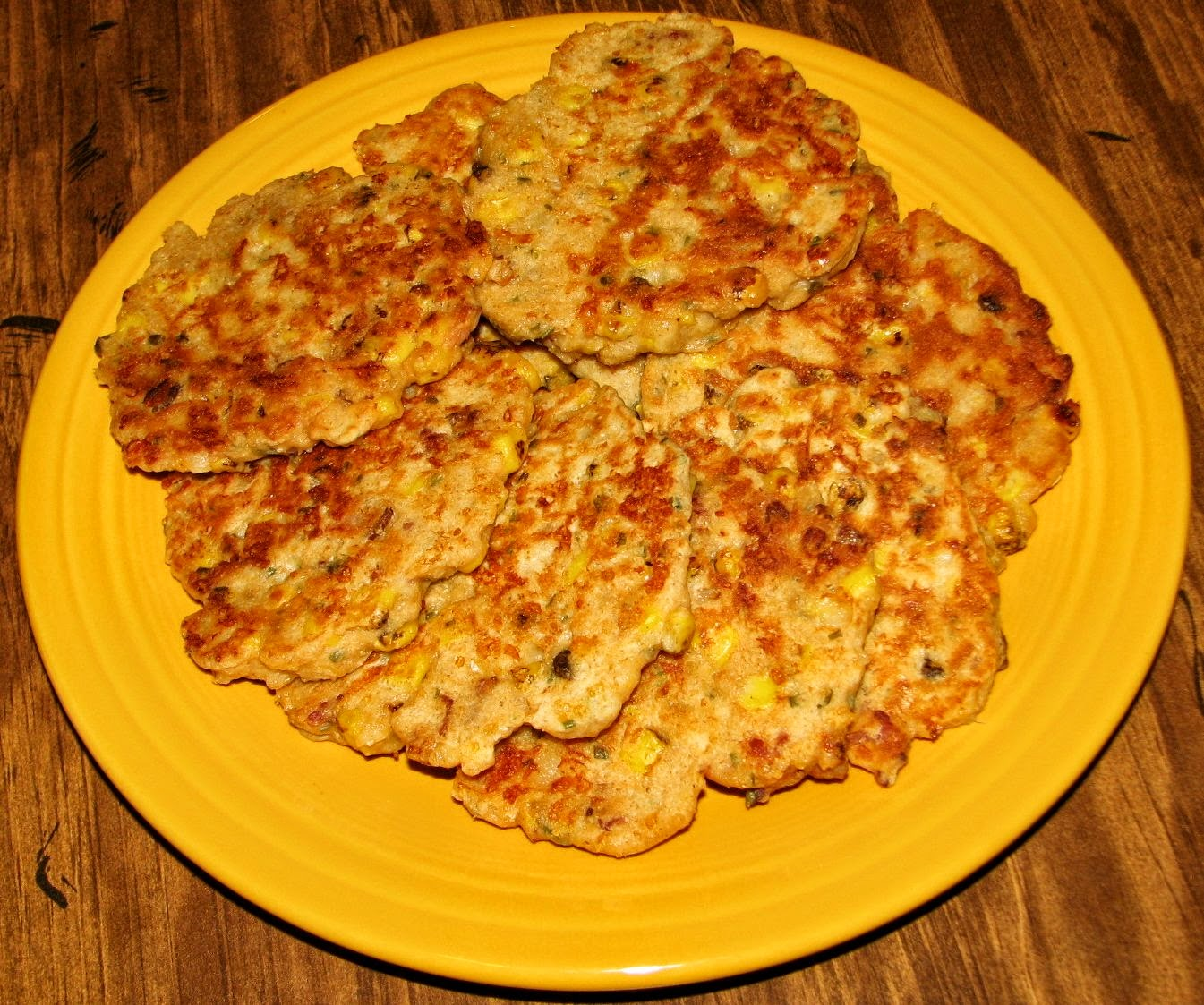 Shel's Kitchen: Bacon and Corn Griddle Cakes