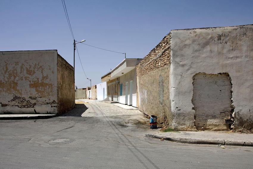 Ruas desertas