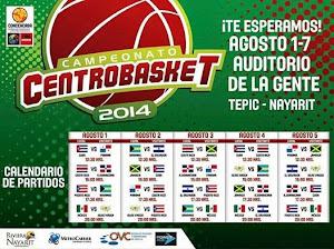 Centrobasket 2014 1-7 Agosto