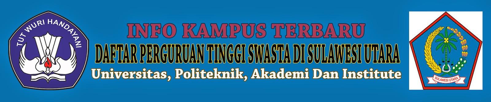 Daftar Perguruan Tinggi Swasta Di Sulawesi Utara