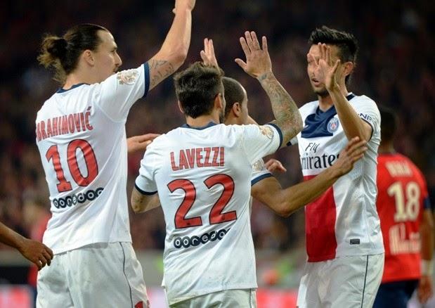 El PSG ganó al Lille a domicilio y le complica la plaza de Champions