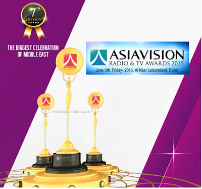 Winners Asiavision Radio and Television Awards 2015