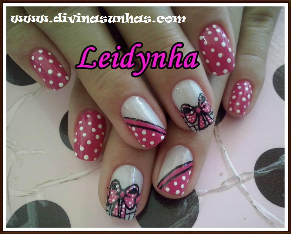 belas decorações de unhas com leidynha3