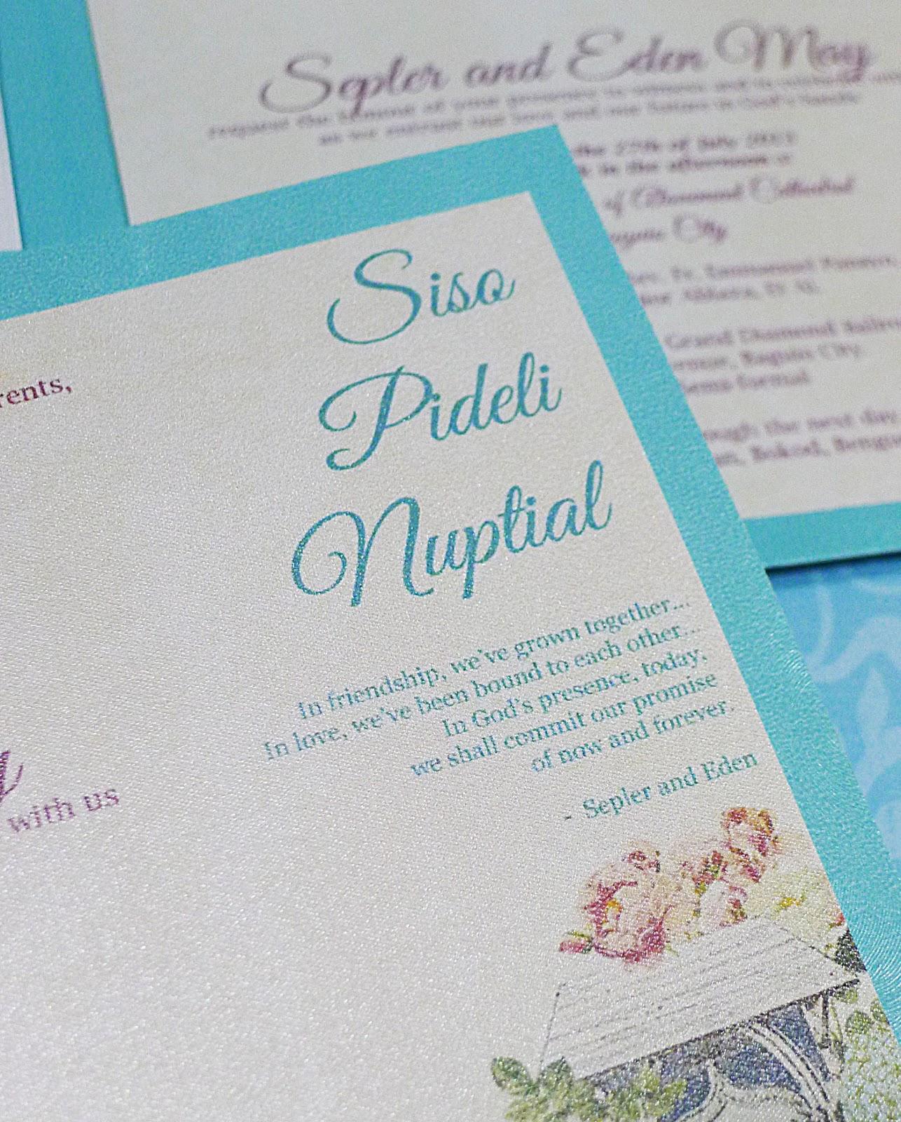 Garden Birdcage Blue Wedding Invitations | INKPRESSIVE INVITATIONS