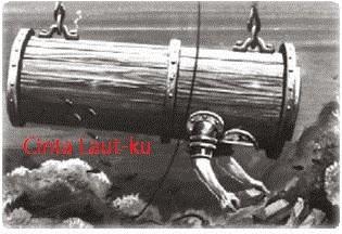 sejarah alat selam pertama