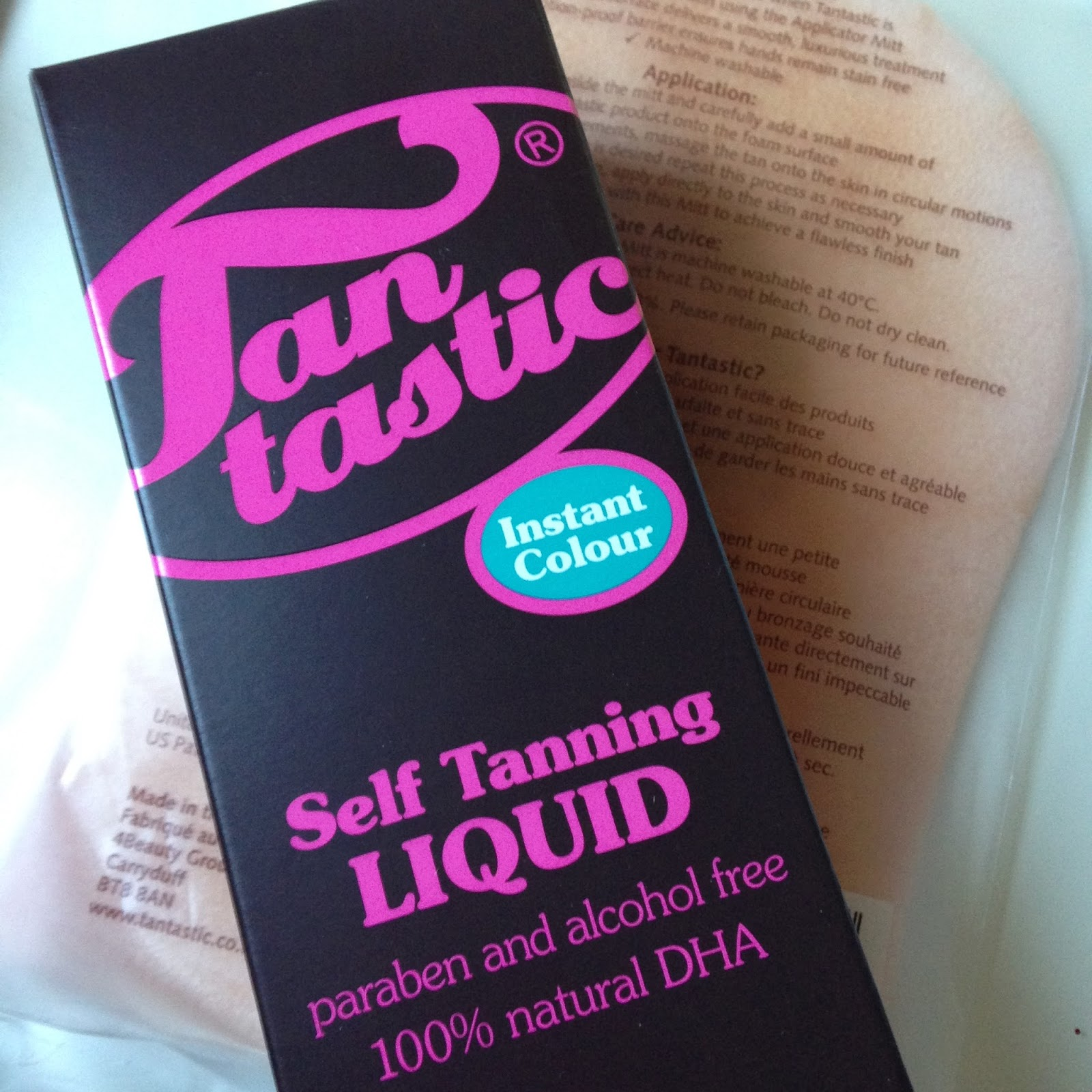 Review - Tantastic Self Tanning Liquid.