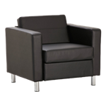 Sofa Single Seater Black