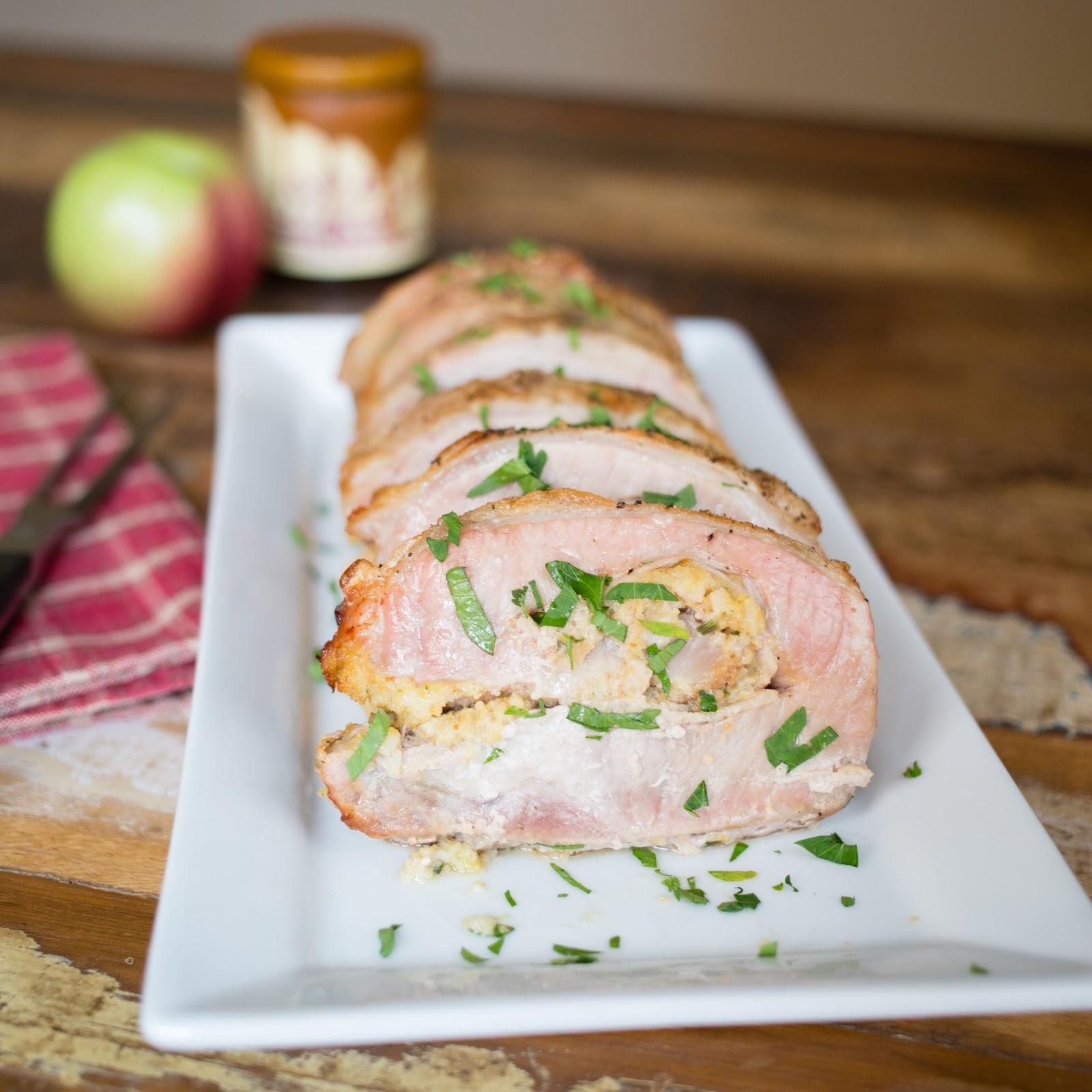 is for: Avon Prime Meats & Apple, Caramel Cornbread Stuffed Pork