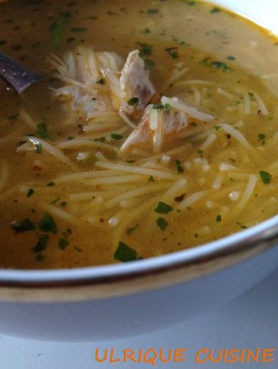 Ulrique cuisine utiliser des restes de poulet ou poule - Cuisine poule au pot ...