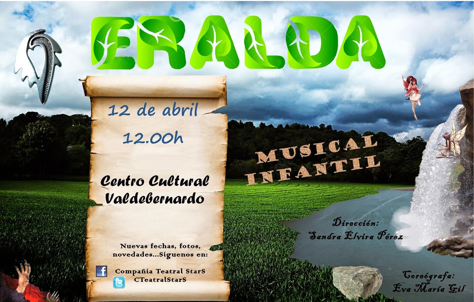 Eralda, La sombra, Pregón de Semana Santa. Programación Vicálvaro 11-12 abril 2014