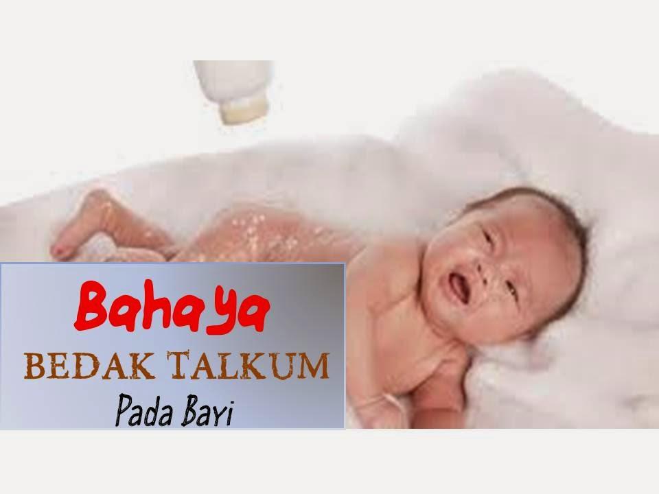 bahaya bedak talkum pada bayi