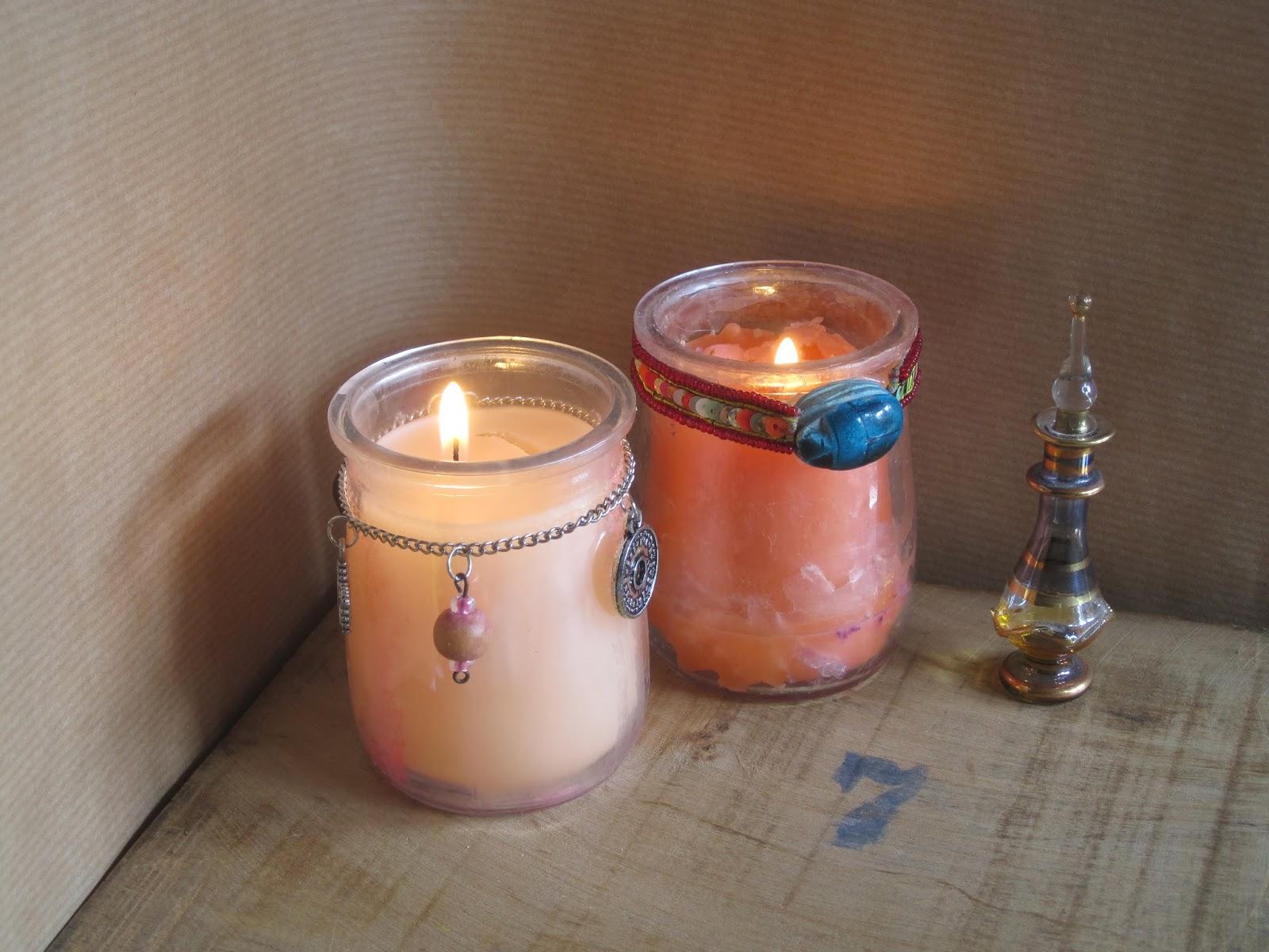 El arte de las cosas nimias c mo hacer velas caseras con - Cosas para hacer en casa ...