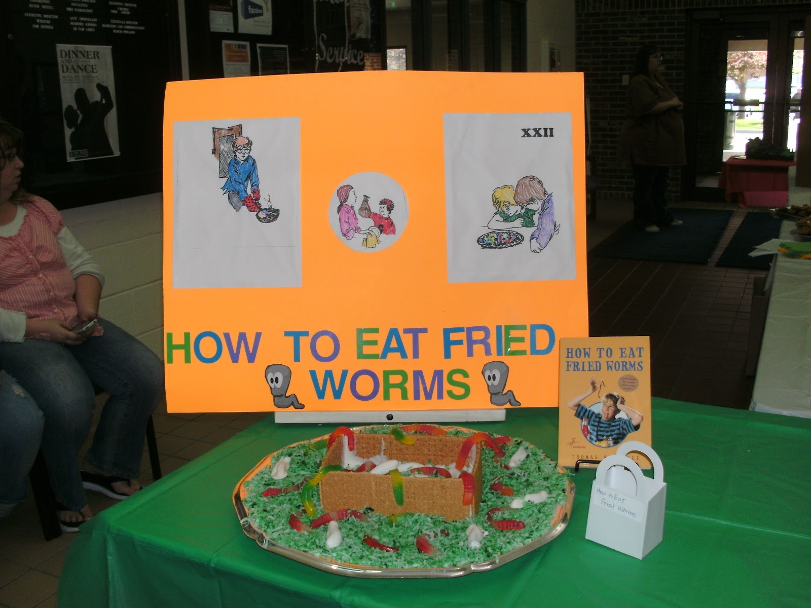 How To Eat Fried Worms Activities & Resources From Starts At Eight Edible  Book Festival 2012