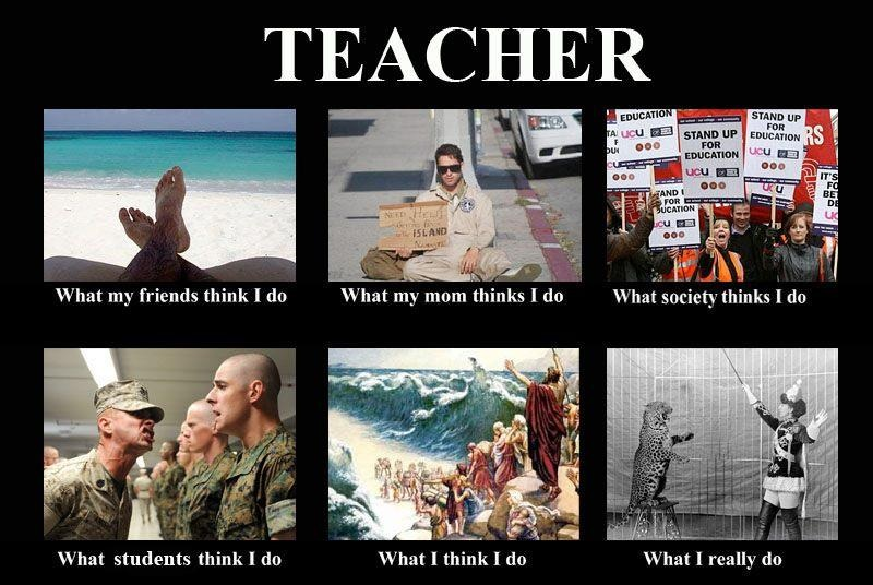 Fun masti teacher what my friends think i do