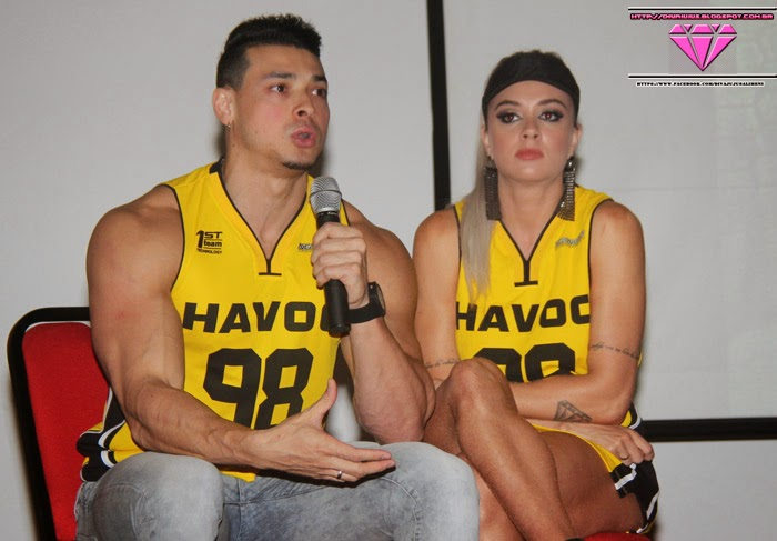 Juju Salimeni e Felpie Franco