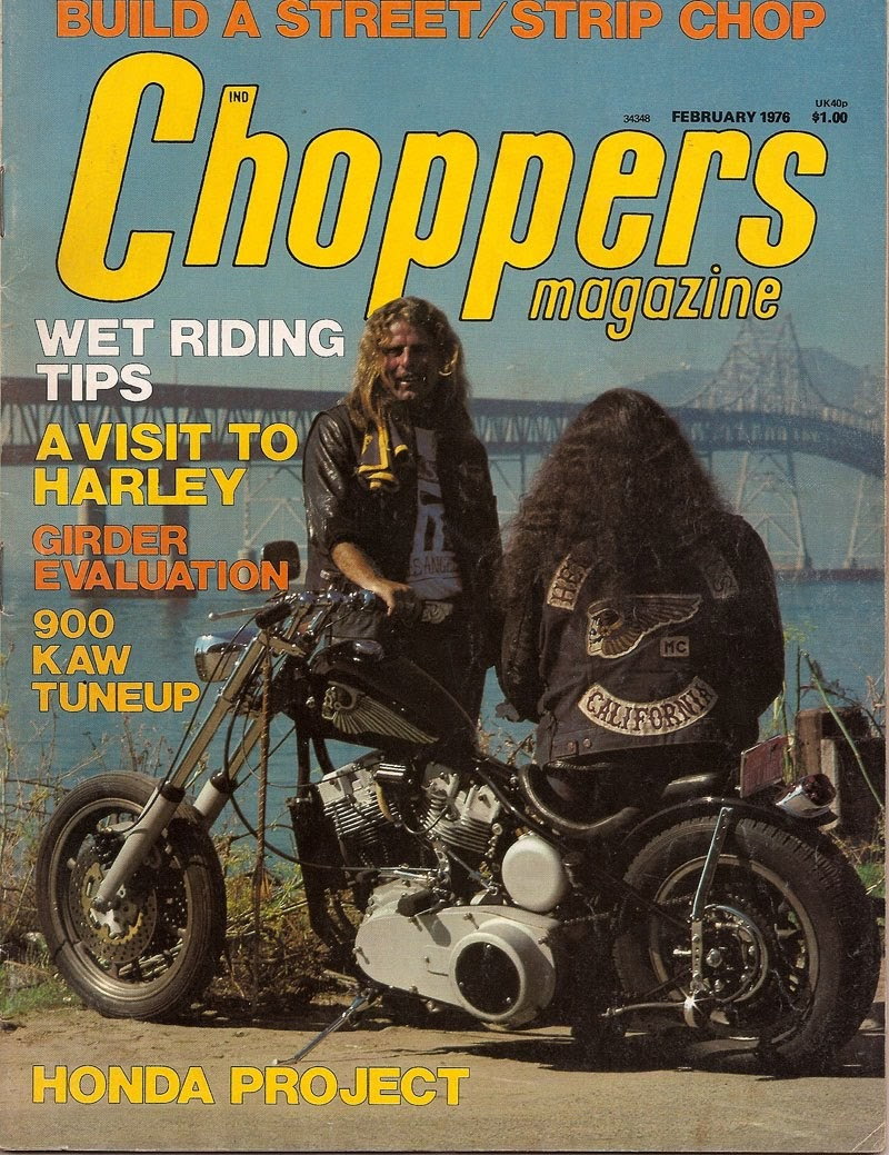 Joe King   SpeedShop  Choppers Magazine