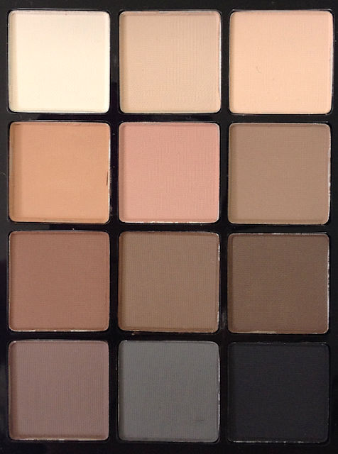 Sonia Kashuk Eye on Neutral Matte Palette