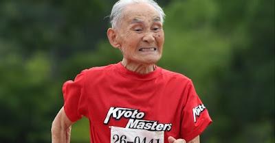 Hidekichi Miyazaki sets world record completing 100m at 105 years old