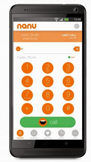 Nanu android app screenshot