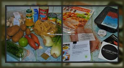 Kochzauber Box Inhalt ausgepackt