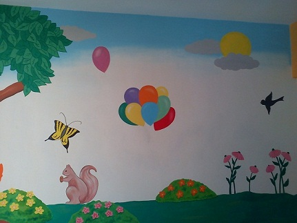 Kids School Classroom Wall Murals Dahisar West