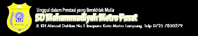 SD Muhammadiyah Metro Pusat
