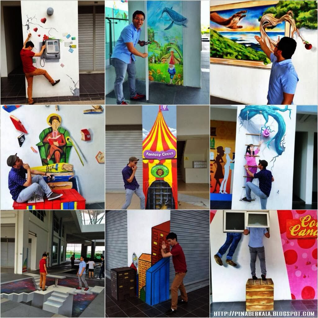 Visible voice artsphere the atmosphere seri kembangan for Mural yang cantik