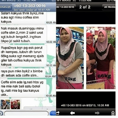 miracle slimming coffee testimoni