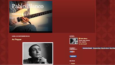 Directoriopax, blogs y webs relacionadas con el mundo de la música, directorio musical para agregar tu blog Pablo Blanco en directoriopax