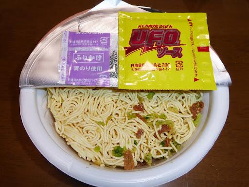 【NISSIN(日清食品)】日清焼そばU.F.O. やみつき濃厚ソ-ス!