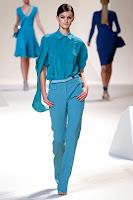 Елегантен дамски панталон с прави крачоли на Elie Saab